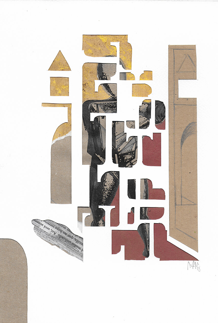 """Letra T de la serie 27 Caracteres que representa """"El Trovador"""".Giorgio de Chirico."""
