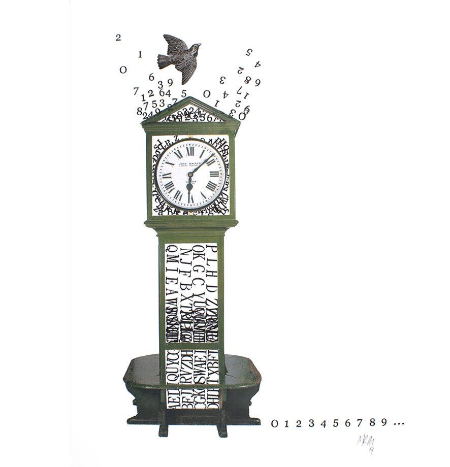 Reloj 2019. Radiografía de un instante en el vuelo del tiempo.
