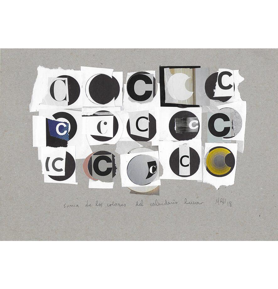 """Pieza """"Calendario Lunar"""" de la serie Otros Caracteres"""
